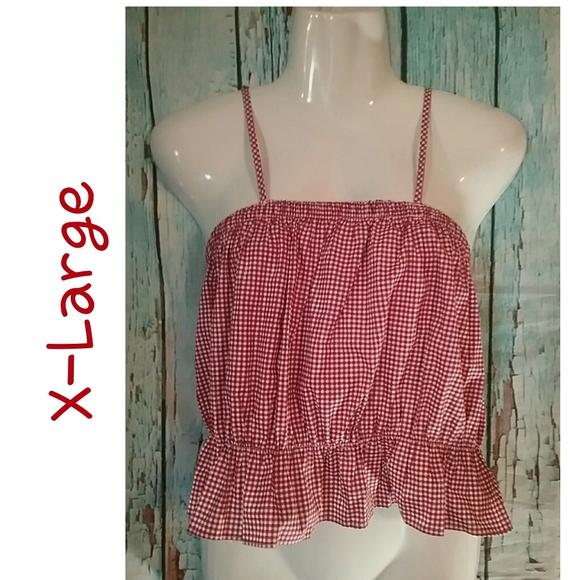 Say What Juniors Floral Crochet Top
